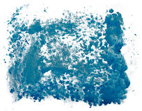 Dynamic splash of paint Royalty Free Stock Photography