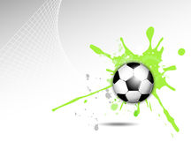 Dynamic sports background Royalty Free Stock Photos