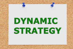 Dynamic Strategy concept Stock Images