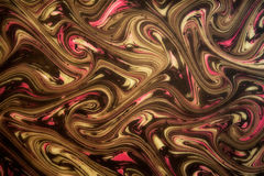 Dynamic swirling marbled pattern Stock Photos