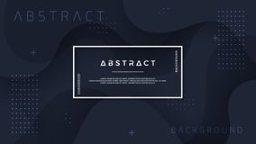 Dynamic textured background design in 3D style with black color. Can be used for posters, placards, brochures, banners, web pages. Headers, covers, and other vector illustration