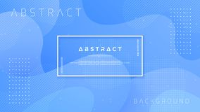 Dynamic textured background design in 3D style with blue color. EPS10 Vector background vector illustration