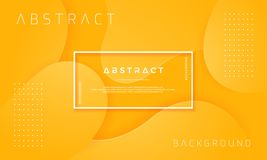 Dynamic textured background design in 3D style with orange color. Can be used for posters, placards, brochures, banners, web pages. Headers, and other stock illustration