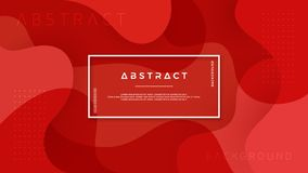 Dynamic textured background design in 3D style with red color. Can be used for posters, placards, brochures, banners, web pages,. Headers, covers, and other stock illustration