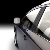 Dynamic view of the modern car from Stock Image