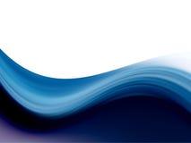 Dynamic wave background Royalty Free Stock Image