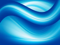 Dynamic waves Stock Image