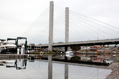 Dynamicdehnungs-Brücke in Tacoma Lizenzfreies Stockbild