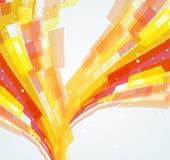 dynamiczna abstrakcyjne tło Obrazy Stock