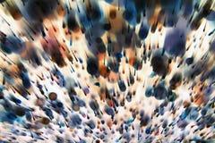dynamiczny abstrakcjonistyczny tło Obraz Royalty Free