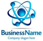 dynamiczny logo Fotografia Royalty Free