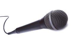 dynamiczny mic Zdjęcia Royalty Free