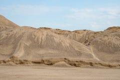 dynamiczny wydm wysokiego zasięgu piasku Zdjęcia Stock
