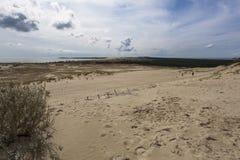 dynamiczny wydm wysokiego zasięgu piasku Zdjęcie Royalty Free