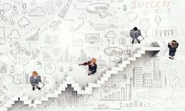 Dynamik des Wachstums im Geschäft vektor abbildung