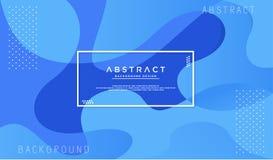 Dynamik maserte blauen Hintergrund lizenzfreie abbildung