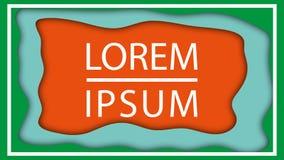 Dynamik maserte orange Hintergrund mit fl?ssiger fl?ssiger Form Vector Entwurf f?r Gesch?ftsdarstellungen, Flieger, Poster und stock abbildung