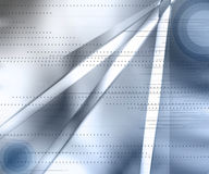 Dynamisch Blauw Royalty-vrije Stock Afbeelding