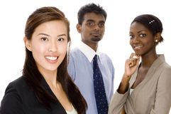 Dynamisch Commercieel Team Royalty-vrije Stock Fotografie