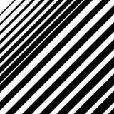 Dynamisch diagonaal lijnenpatroon Parallelle rechte lijnen met IRR royalty-vrije illustratie