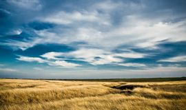Dynamisch landschap Stock Foto