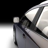 Dynamische Ansicht des modernen Autos von Stockbild