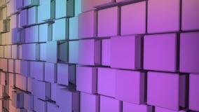 Dynamische blokmuur stock videobeelden