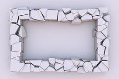 Dynamische 3d abstractie Royalty-vrije Stock Afbeelding