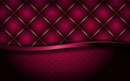 Dynamische de luxe nam roze abstracte achtergrond toe vector illustratie