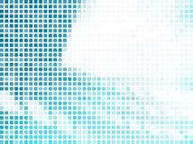 Dynamische hoogte - technologie abstracte achtergrondontwerpreeks Stock Foto
