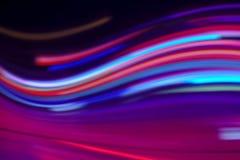 Dynamische hyperjumpabstractie Stock Foto