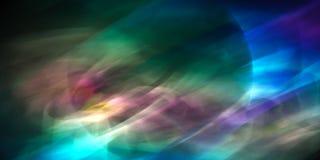 Dynamische kleurrijke abstractie Stock Foto