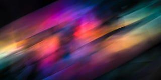 Dynamische kleurrijke abstractie Stock Fotografie