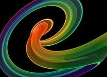 Dynamische Kurven lizenzfreie abbildung