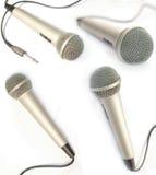 Dynamische mic royalty-vrije stock foto