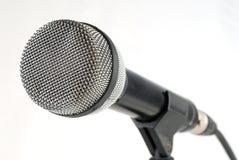 Dynamische microfoon Stock Foto