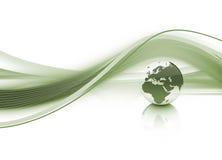 Dynamische Wereld vector illustratie