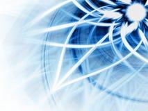Dynamischer blauer Hintergrund stock abbildung