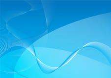 Dynamischer Wellen-Hintergrund Lizenzfreie Stockbilder