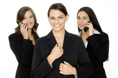 Dynamisches Geschäfts-Team Lizenzfreies Stockbild