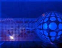 Dynamisches Hightech- abstraktes backg Lizenzfreie Stockbilder