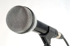 Dynamisches Mikrofon Stockfoto