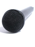Dynamisches Mikrofon Stockfotografie