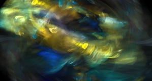 Dynamisk färgrik abstraktion Royaltyfri Foto