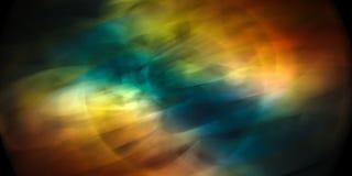 Dynamisk färgrik abstraktion Arkivfoto