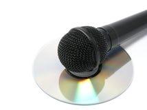 dynamisk mikrofon Arkivbilder