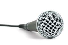 dynamisk mikrofonprofessionell Arkivbild
