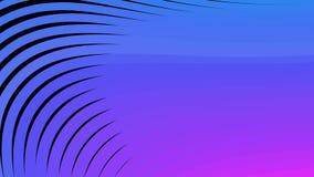 Dynamisk rörelseanimering för modern design royaltyfri illustrationer