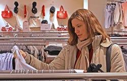dynamisk shopping för högt område Arkivfoto