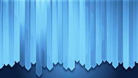 Dynamiskt blått wood bräde för remsaväggdesign vektor illustrationer